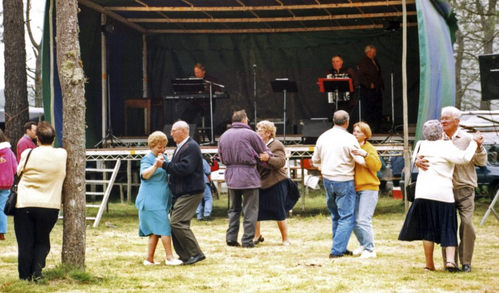 Seniori, zábava, festival